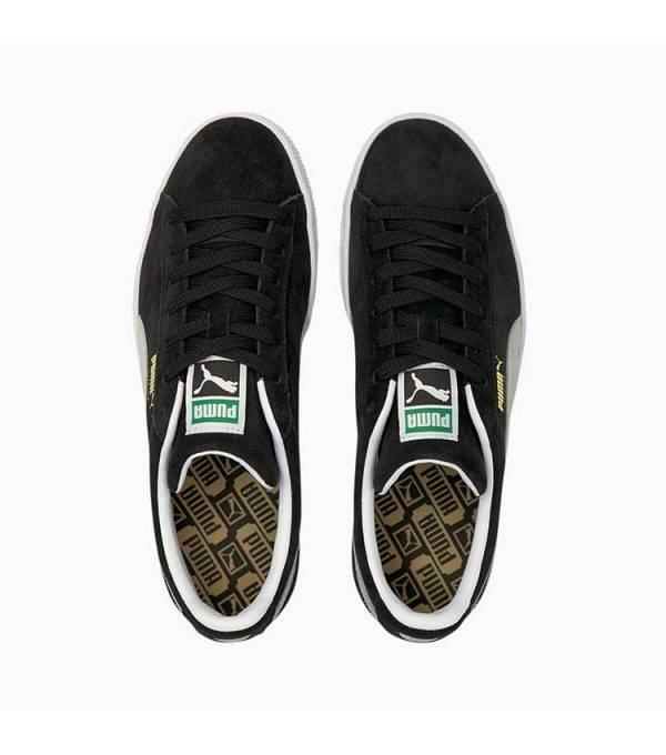 Chaussure puma style Snearker suede dessus