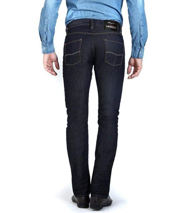 Jeans chefdeville style Straight fit profil arrière