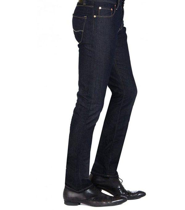 Jeans chefdeville style Straight fit vue coté