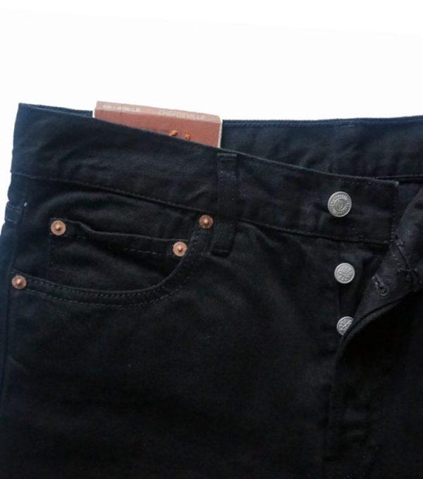 Jeans chefdeville style droit profil poche