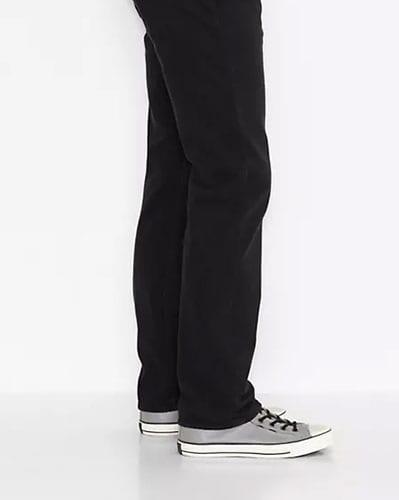 Jeans levis style droite vue coté
