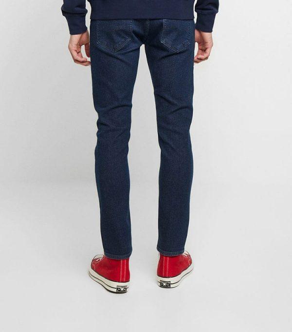 Jeans levis style skinny profil arriere