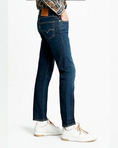 Jeans levis style slim511 vue coté